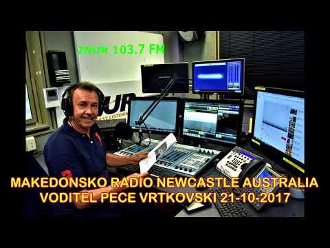 MAKEDONSKO RADIO 2NUR 103.7 FM NEWCASTLE AUSTRALIA 21-10-2017