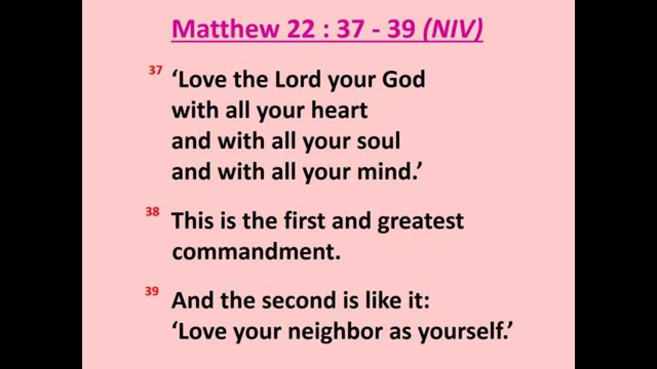 Matthew 22 37 39 Love the Lord your God with all your heart Scripture Memory Song