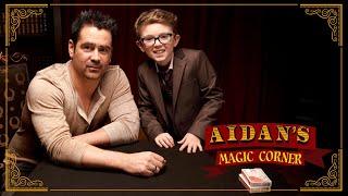 'Aidan's Magic Corner': Colin Farrell and Fellow Irishman Aidan McCann Make Magic Happen
