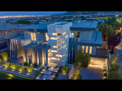 65 Meadowhawk Lane, a Las Vegas Architectural Icon in The Ridges