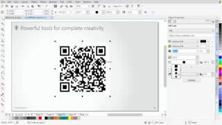 CorelDRAW® Graphics Suite X7 - New QR code generator