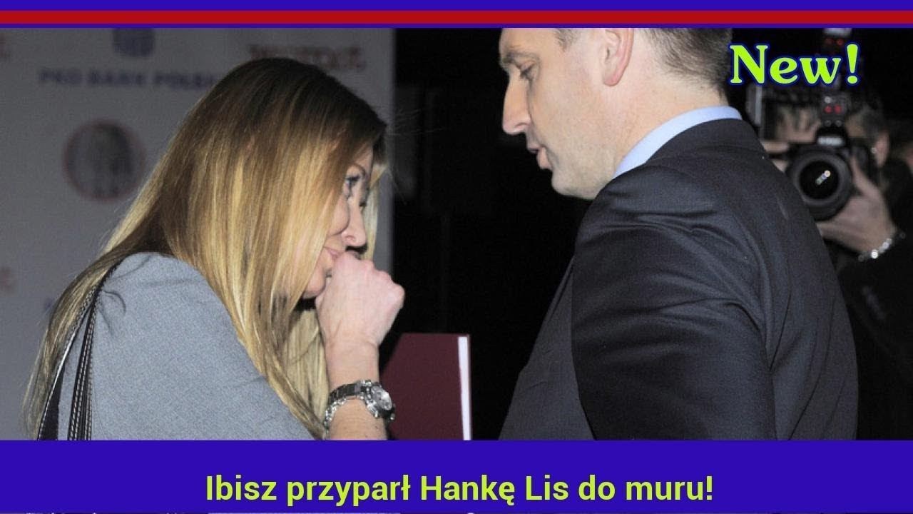 Ibisz przyparł Hankę Lis do muru! Zapytał wprost o rozstanie z Tomkiem! Ale mu odpowiedziała!