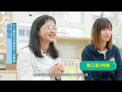 校園防疫:正確戴口罩(60秒)
