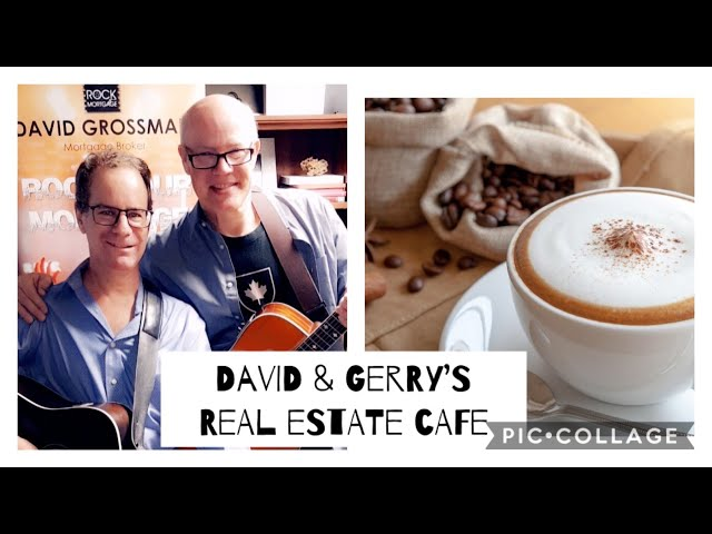 Promo for David & Gerry's Real Estate Cafe Official Launch on Sunday April 5th at 11 AM ET