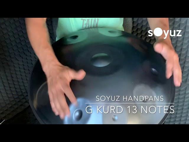 Soyuz handpan G Kurd 13