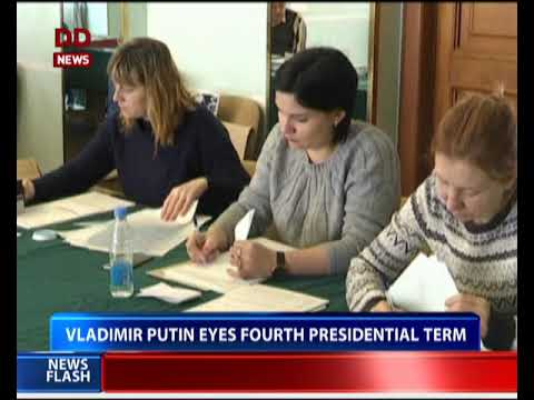 Polls open in Russian presidential election