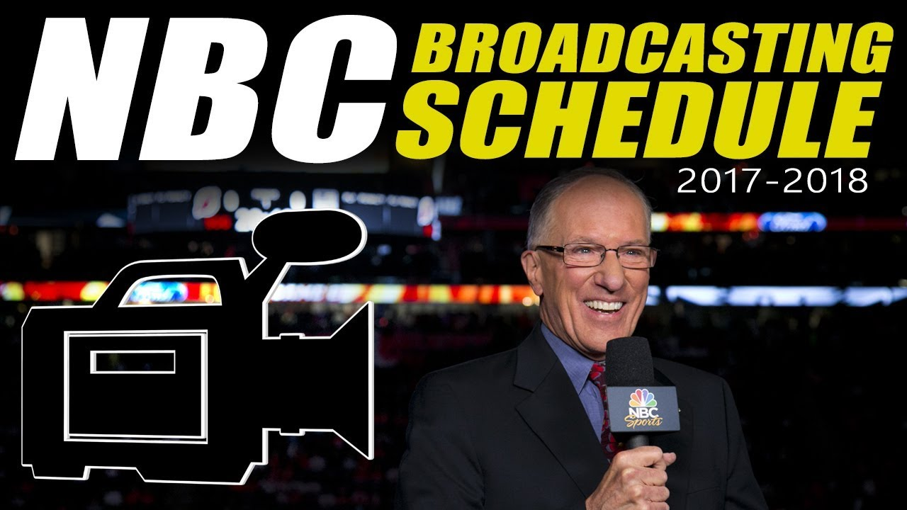 NBC Broadcast Schedule for 2017-2018