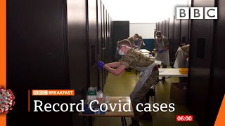 Covid: UK cases up by 33,470 on Thursday 🔴 @BBC News live - BBC