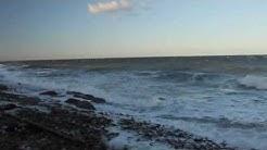 Leichte Sturmflut auf Fehmarn am 14 10 09