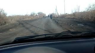 Приколы от дорожников в Тоболе.