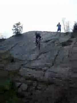 Darren Bland, one-legged stunt rider