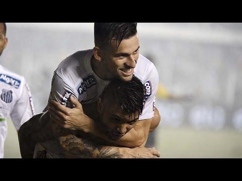Santos 1 x 0 Palmeiras | BASTIDORES PÓS-JOGO | Copa do Brasil (25/11/15)