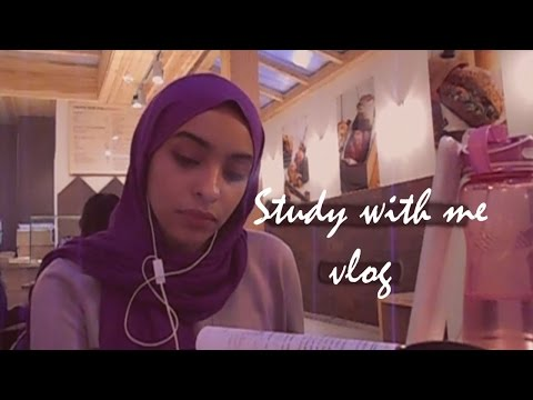 Study with me (& my sister) at a cafe' [Real time] | Pharmacy Student