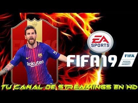 FIFA 19   RECOMPENSAS CON MESSI 97   VAMOS A POR MESSI!!   ROAD TO 9K   EN DIRECTO   LIVE thumbnail
