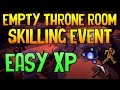Runescape - Empty Throne Room Guide: Easy XP for Agility, Mining & Divination