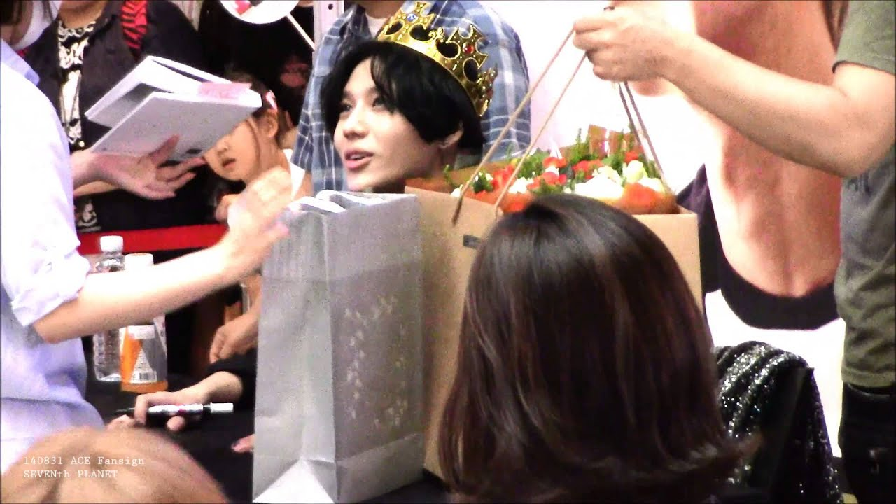 140831 SHINee Taemin ACE fansign event