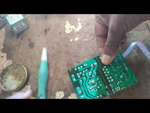 How To Repair Power Supply Of Dth