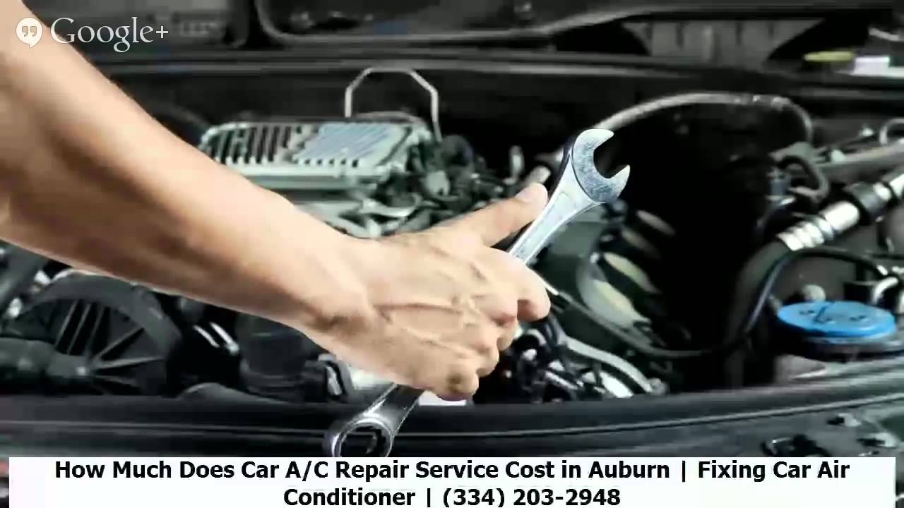 how much does car a c repair service cost in auburn fixing car air conditioner 334 203. Black Bedroom Furniture Sets. Home Design Ideas