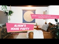 Alison's House Party Ep 4: Eric's Man Country - Making the most of a small space!