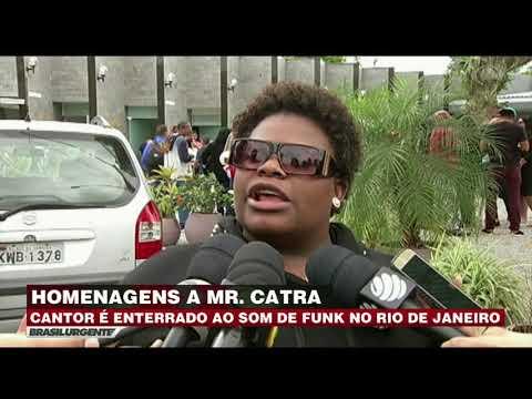 Mr. Catra é enterrado ao som de funk no RJ