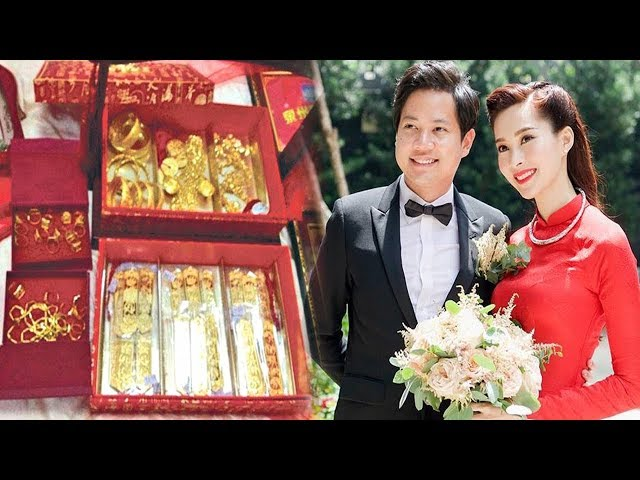 Choáng với sính lễ khủng của nhà trai tới hỏi cưới Hoa hậu Thu Thảo - TIN TỨC 24H TV
