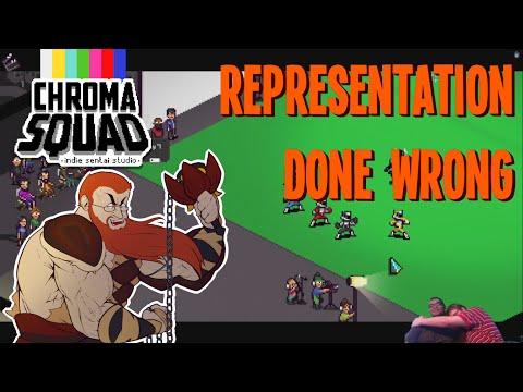 Chroma Squad - Representation Done Wrong  
