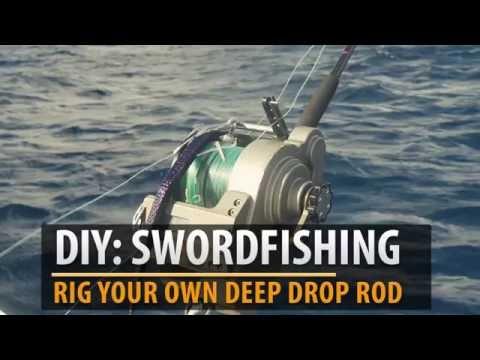 How To: Rig Swordfish Daytime Deep Drop Rod & Electric Reel