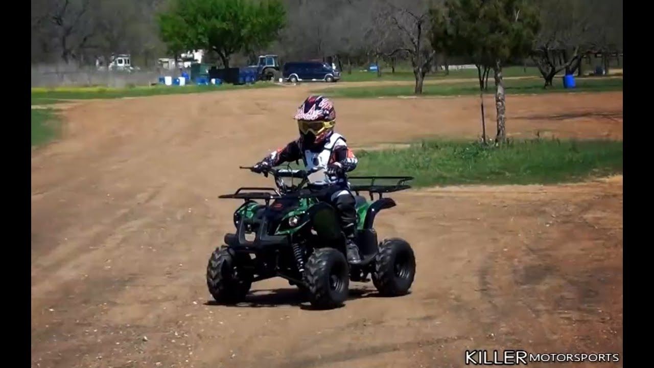 Coolster 125cc Utility-Max Kids ATV C-ATV-3125R - YouTube