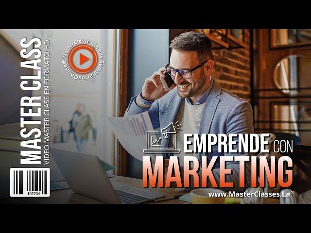 Emprende con Marketing - Encuentra las herramientas estratégicas y creativas.