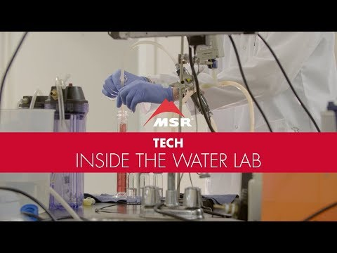 Behind the Scenes: MSR Water Research Lab