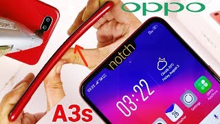 Oppo A3s Durability Test - Notch at Budget Price! Vs realme 1 | (Unboxing Camera |BEND-Scratch Fail)