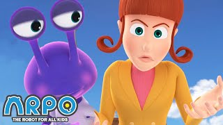 Arpo the Robot | Arpo and the Alien | COMPILATION | Best Moments | Funny Cartoons for Kids