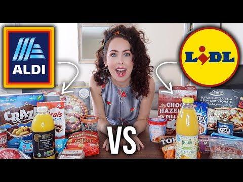 ALDI VS LIDL TASTE TEST CHALLENGE 2019 | Which Store Is The BEST?!