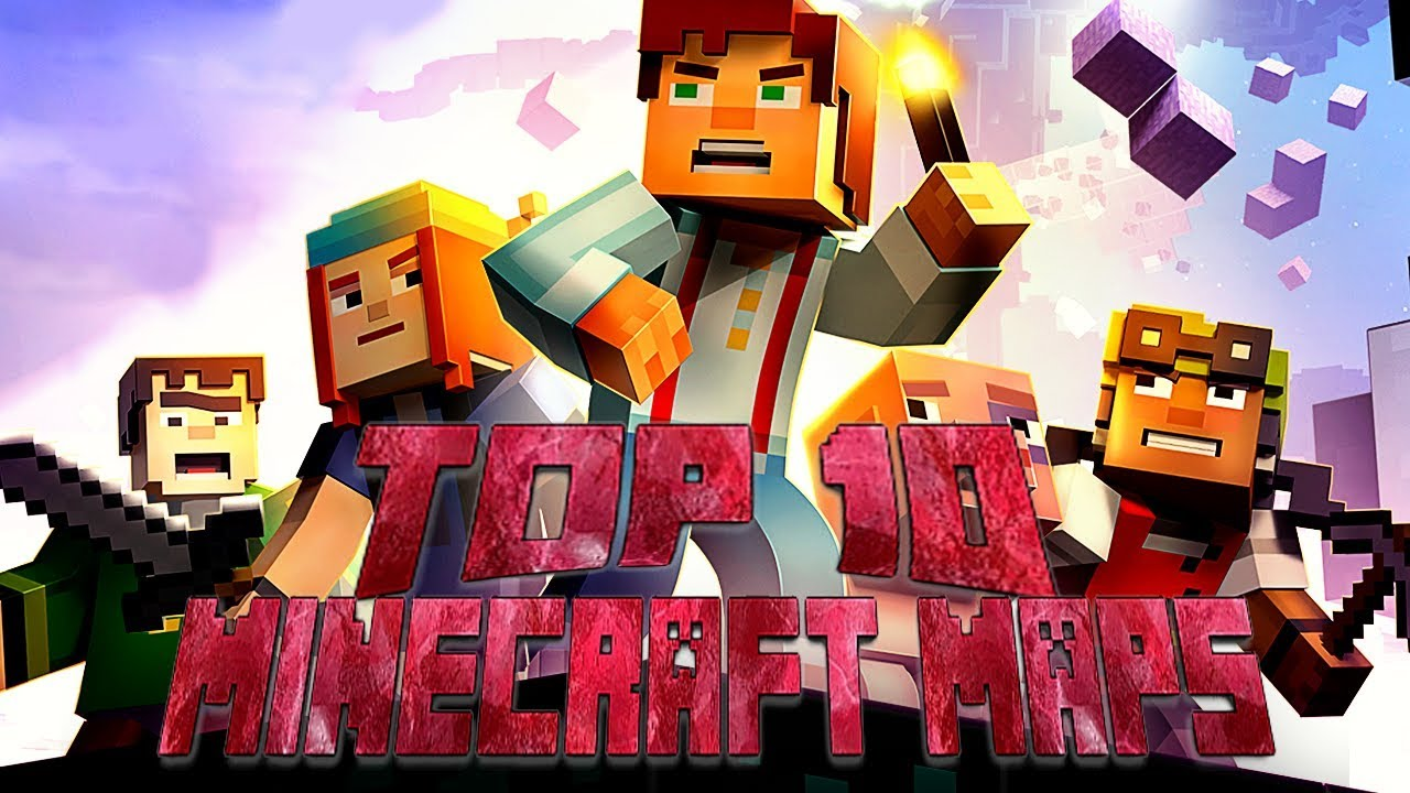 Top 12 Minecraft Adventure Maps (12) - YouTube