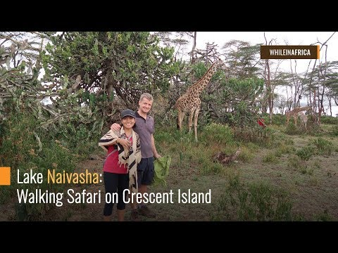 Lake Naivasha: Walking Safari On Crescent Island