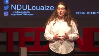 Challenge yourself, fight extremism, and embrace the power of change   Eva Oueiss   TEDxNDULouaize