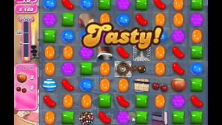 How to beat Candy Crush Saga Level 523 - 3 Stars - No Boosters - 157,380pts