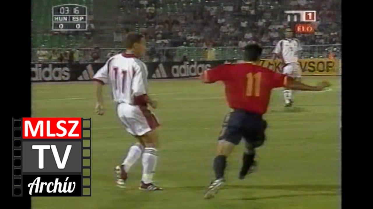 Magyarország-Spanyolország | 1-1 | 2002. 08. 21 | MLSZ TV Archív