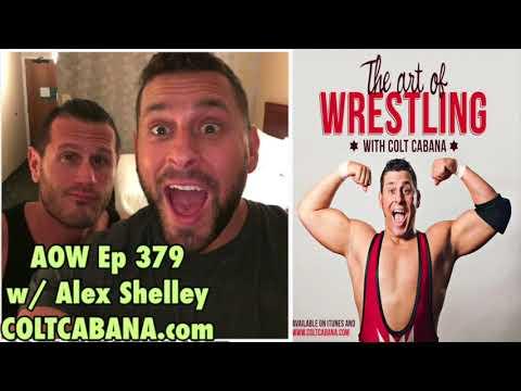 Alex Shelley Ep 379 | AOW Podcast w/ Colt Cabana