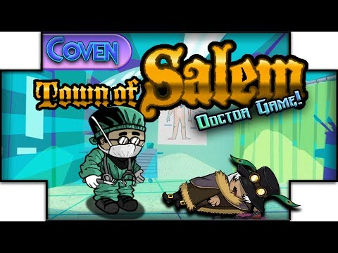 Town of Salem: The Coven (Doctor Game) | A TASTE OF MY OWN MEDICINE! (Ranked Practice)