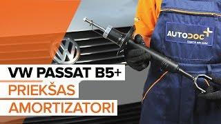 priekšā Amortizators uzstādīšana VW PASSAT Variant (3B5): bezmaksas video