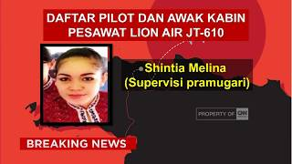Ada 2 Suporter Timnas, Ini Daftar Korban Tewas Lion Air JT-610