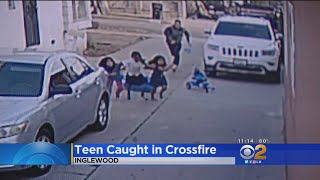Baixar Suspects Sought In Inglewood Shootout Which Wounded Teen