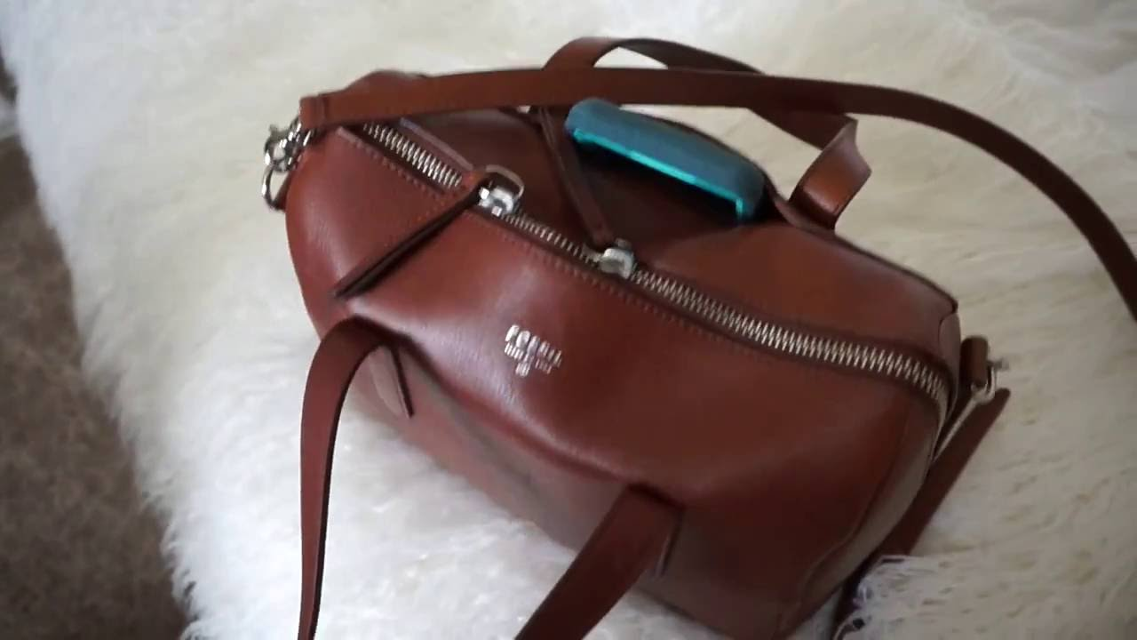 Fossil Sydney Satchel Review What S In My Bag