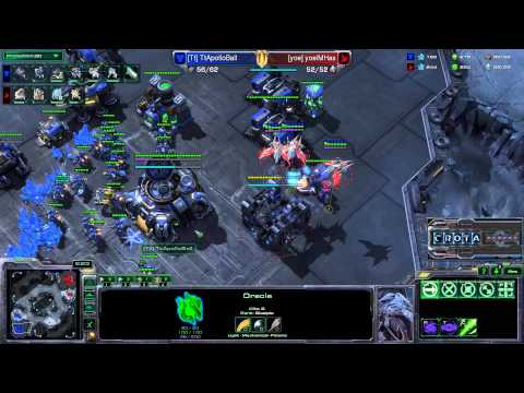 TESL  Has P) vs Ball (T) - StarCraft 2 - Season Two Round Robin - G001