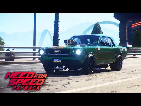 Need For Speed Payback - How To Unlock Ford Mustang 1965 (Derelict Car Part Locations) Car #2