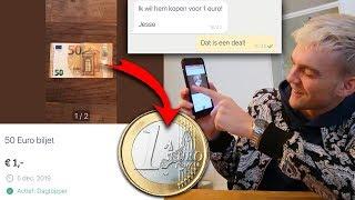 Ik Verkocht 50 Euro Voor 1 Euro Op Marktplaats En Dit Gebeurde...