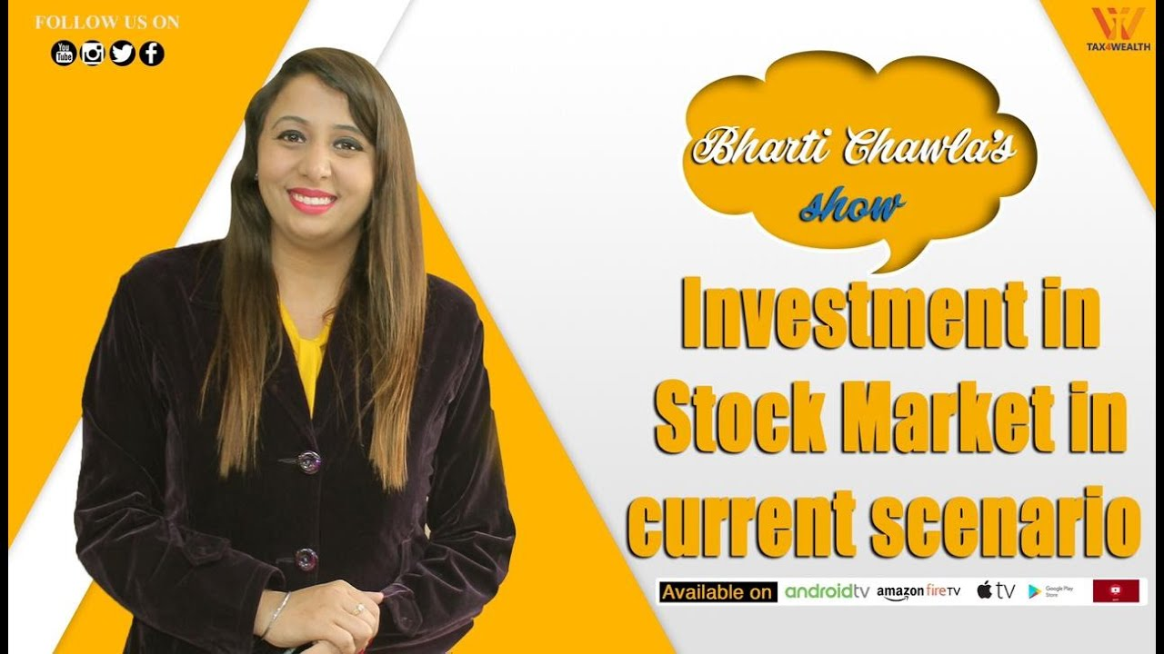 Investment in Stock market in Current Scenario with CA Rakesh Singhal in Hindi