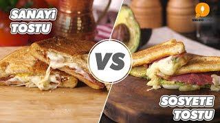 Sanayi Tostu vs Sosyete Tostu - Onedio Yemek - Pratik Yemek