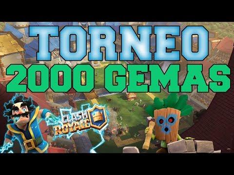 TORNEO DE 2000 GEMAS | CLASH ROYALE |
